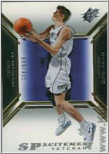 NBA 2005 / 06 SPx SPxcitement Veterans - No XCV33