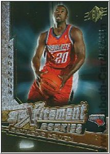 NBA 2005 / 06 SPx SPxcitement Rookies - No XCR6