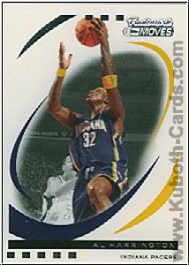 NBA 2006 / 07 Topps Trademark Moves - No 54 - Al Harrington