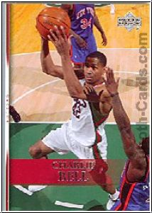 NBA 2007 / 08 Upper Deck - No 137 - Charlie Bell