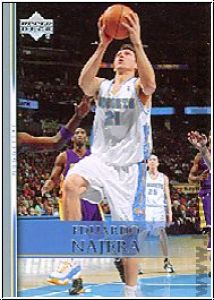 NBA 2007 / 08 Upper Deck - No 59 - Eduardo Najera