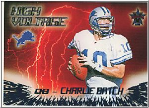 NFL 2000 Vanguard High Voltage - No 12 - Charlie Batch