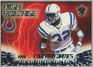 NFL 2000 Vanguard High Voltage - No 15 - Edgerrin James