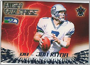 NFL 2000 Vanguard High Voltage - No 32 - Jon Kitna