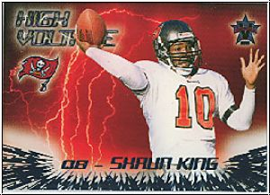 NFL 2000 Vanguard High Voltage - No 35 - Shaun King
