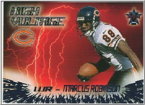 NFL 2000 Vanguard High Voltage - No 4 - Marcus Robinson