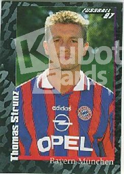 Fussball 1997 Panini - No 40 - Thomas Strunz