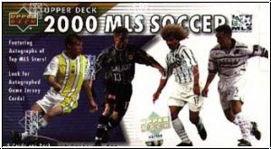 Fussball 2000 Upper Deck MLS Soccer