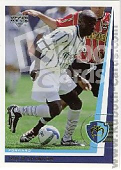 Fussball 1999 Upper Deck MLS Soccer - No 78 - Musa Shannon