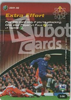 Fussball 2001 / 02 Wizards of the Coast - No 5/80 - Extra Effort