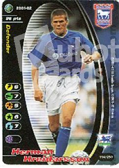 Fussball 2001 / 02 Wizards of the Coast - No 114/250 - Hreidarss