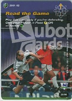 Fussball 2001 / 02 Wizards of the Coast - No 23/80 - Read the Ga
