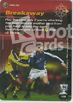 Fussball 2001 / 02 Wizards of the Coast - No 1/80 - Breakaway