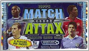 Fussball 2008 / 09 Topps Match Attax Premier League