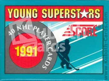 NHL 1991 / 92 Score Young Superstars