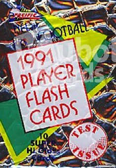 NFL 1991 Pacific Flash Cards