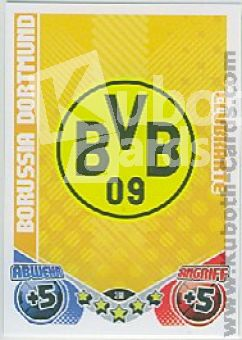 Fussball 2011 / 12 Topps Match Attax - No 388 - Logo Dortmund