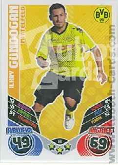 Fussball 2011 / 12 Topps Match Attax - No 66 - Ilkay Gündogan