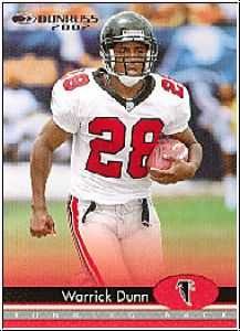 NFL 2002 Donruss - No 10 - Warrick Dunn