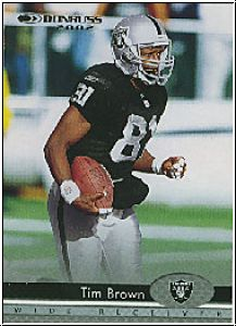 NFL 2002 Donruss - No 139 - Tim Brown