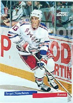 NHL 1993 / 94 Score International Stars - No 16 of 22