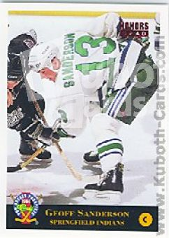 NHL 1994 Classic Pro Prospects - No 56 - Geoff Sanderson