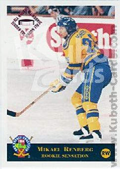 NHL 1994 Classic Pro Prospects - No 33 - Mikael Renberg