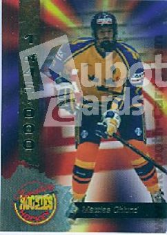 NHL 1995 Signature Rookies - No 14 - Mattias Ohlund