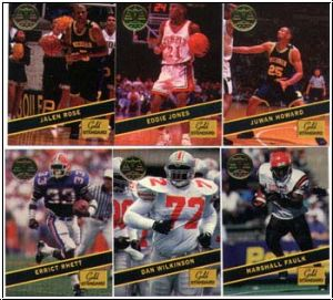 MLB/NBA/NFL/NHL/ 1994 Signature Rookies Gold Standard