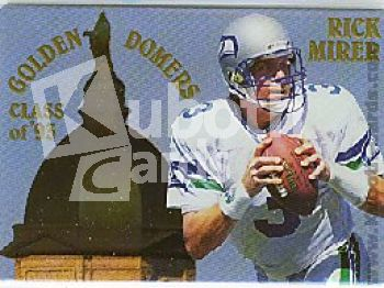 NFL 1994 Action Packed Prototypes - No RU943 - Rick Mirer