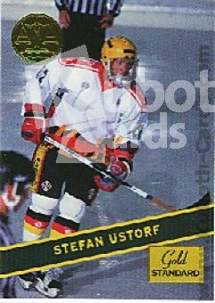 NHL 1994 Signature Rookies Gold Standard - No 95 - S. Ustorf