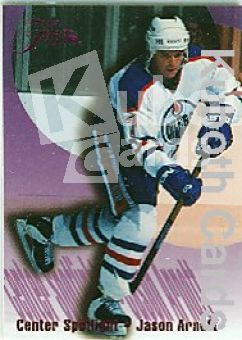 NHL 1994 / 95 Flair Center Spotlight - No 1 of 10 - Jason Arnott