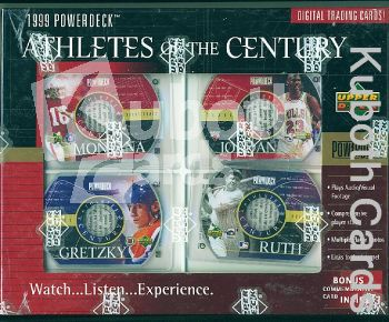 MLB/NBA/NFL/NHL 1999 Upper Deck Athletes of the Century