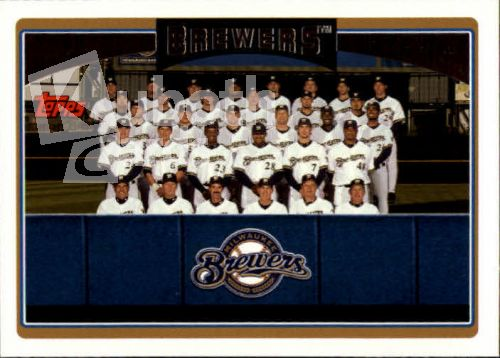 MLB 2006 Topps - No 281 - Milwaukee Brewers