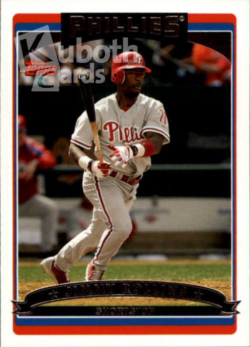 MLB 2006 Topps - No 205 - Jimmy Rollins
