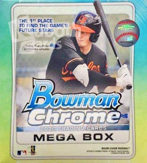 MLB 2020 Bowman Chrome Mega Box