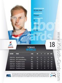 Verzamelkaarten, ruilkaarten Verzamelkaarten: sport 145 Tobias Wörle Iserlohn Roosters DEL 2010-11