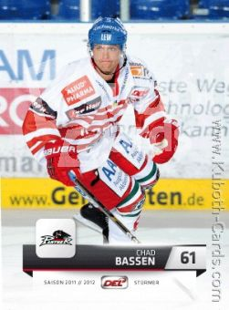 DEL 2011 / 12 CityPress - No 016 - Chad Bassen