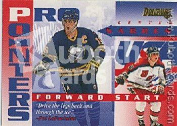 NHL 1995 / 96 Donruss Pro Pointers - No 2 of 20