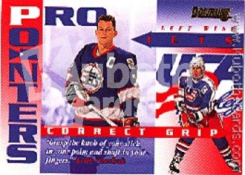 NHL 1995 / 96 Donruss Pro Pointers - No 7 of 20