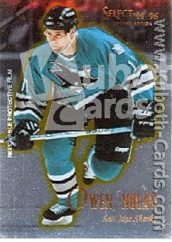 NHL 1995 / 96 Select Certified - No 19 - Owen Nolan