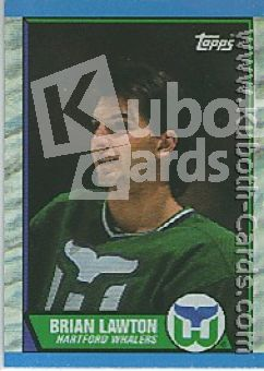 NHL 1989 / 90 Topps - No 91 - Brian Lawton