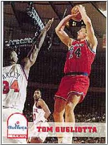 NBA 1993 / 94 Hoops - No 224 - Thomas Gugliotta