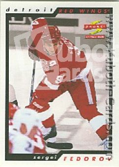 NHL 1996 / 97 Score Samples - No 77 - Sergei Fedorov