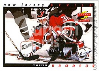 NHL 1996 / 97 Score Samples - No 10 - Martin Brodeur