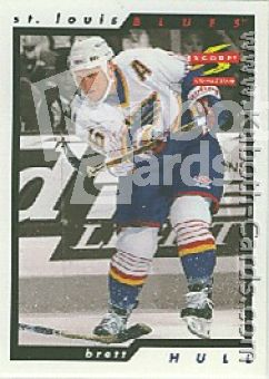 NHL 1996 / 97 Score Golden Blades - No 19 - Brett Hull