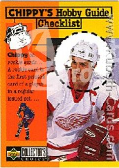 NHL 1997 / 98 Collector's Choice - No 313 - Steve Yzerman