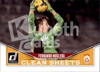 Fus 2015-16 Donruss Clean Sheets - No 3 - Fernando Muslera