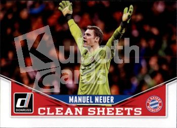 Fus 2015-16 Donruss Clean Sheets - No 8 - Manuel Neuer