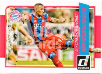 Fus 2015-16 Donruss Defensive Dynamos - No 3 - Boateng